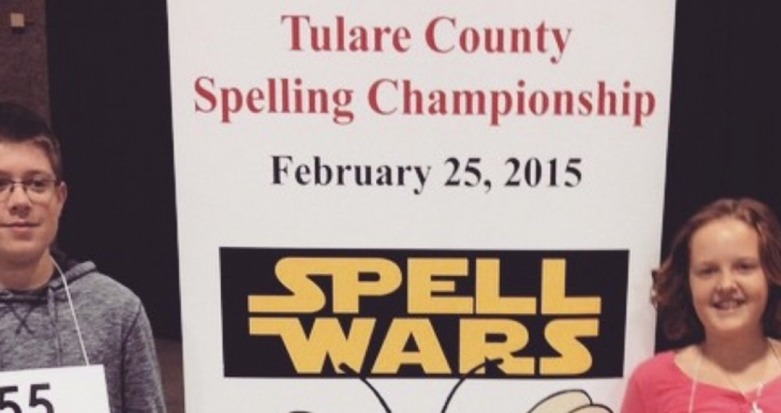 CVC at the Tulare County Spelling Bee